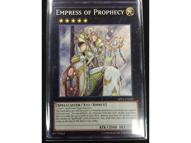 Common YuGiOh EMPRESS OF PROPHECY AP05-EN020