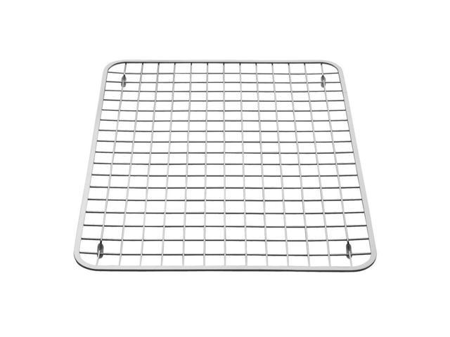 InterDesign Gia Kitchen Sink Protector - Wire Grid Mat Large, Polished -  Newegg.com