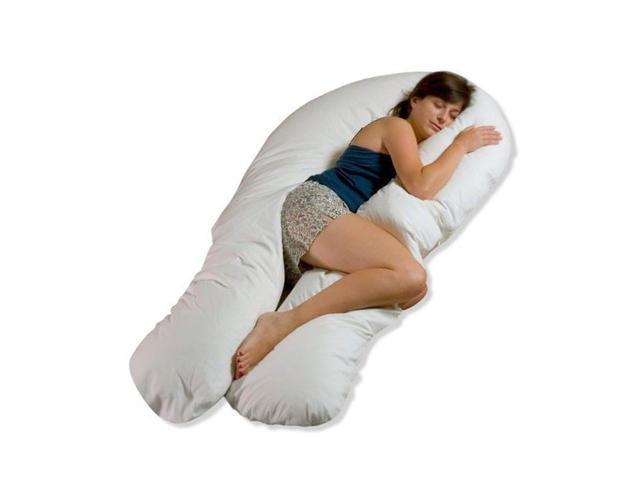 Comfort U Total Body Support Pillow Full Size.Moonlight Slumber Comfort U Total Body Support Pillow Full Size Newegg Com