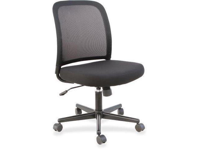 Lorell Mesh Back Armless Task Chair 1 Each Llr83304