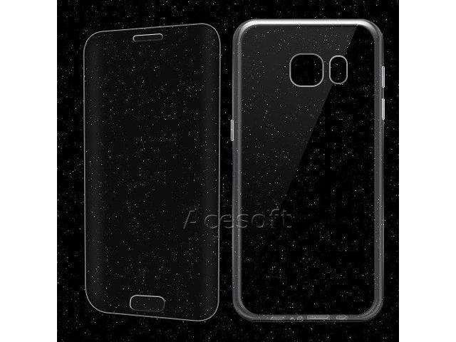 finest selection de160 88e05 Premium Screen Protector Soft TPU Case f Verizon Samsung Galaxy S7 edge  SM-G935V - Newegg.com