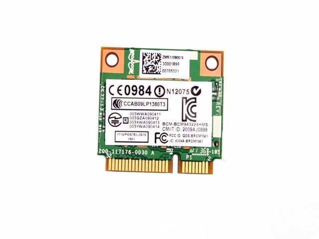 Dual Band DW1520 Wireless AGN Half MINI PCI-E BCM943224HMS WIFI Card for DELL