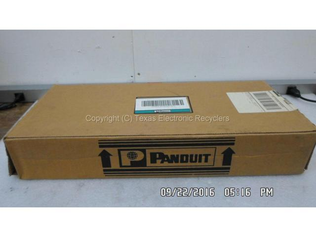 NOB Panduit NCMH2 Network Cable Manager 2RU Front /& Back