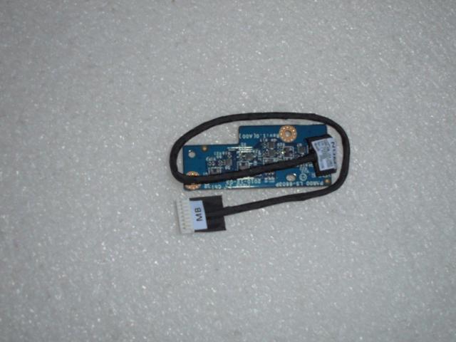 NEW DELL Alienware M17X R3 LED Board w// Cable LS-6603P DC020015O00 FF56M
