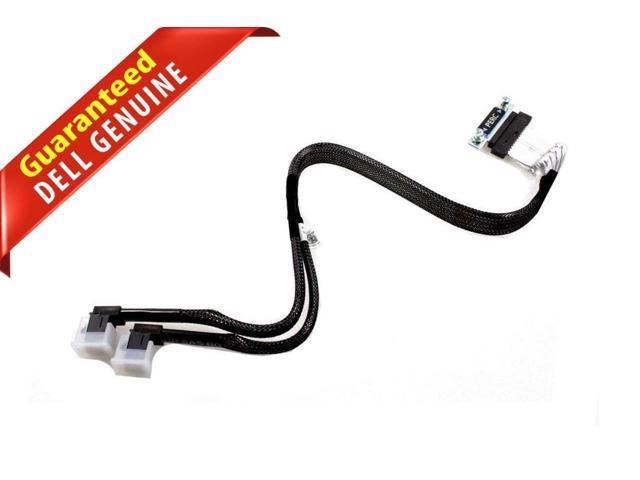 DELL POWEREDGE SERVER R630 10 BAY BACKPLANE SAS RAID CABLE 5DP9R DK50W SFF-8643