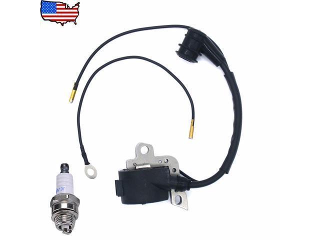 Ignition Coil Spark Plug For Stihl 024 026 028 029 034 038 039 MS240  Chainsaw US - Newegg com