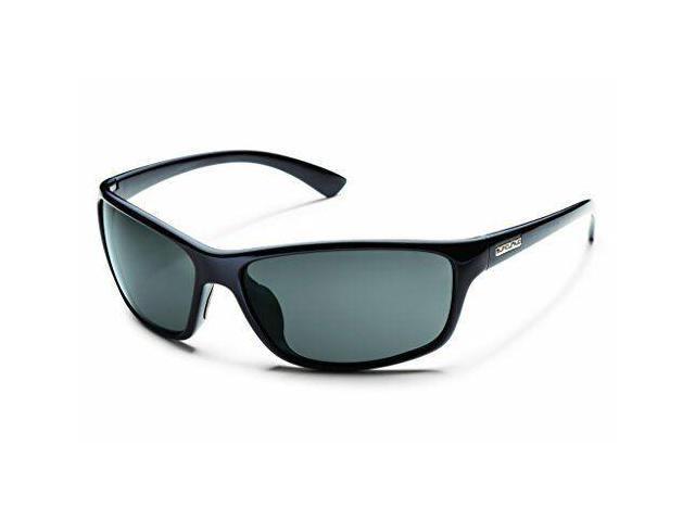 d0b4b79b1865a Smith Optics Suncloud Sentry Polarized Sunglasses Black Frame Gray Polar  Lens