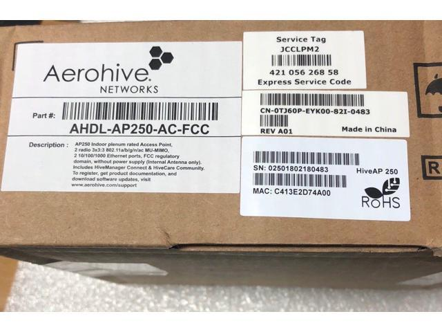 Refurbished: Aerohive AP250 Wireless Access Points AHDL-AP250-AC-FCC Indoor  Rated Dual Radio - Newegg com