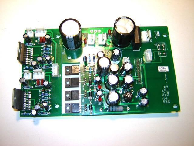 Crate Mackie Circuit Board SK.8.A97.354B Ampeg