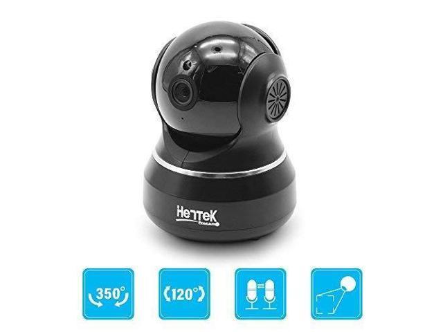 HENTEK Dome Camera 720p HD Pan/Tilt/Zoom Wi-Fi IP Security Surveillance  System Night Vision, Remote Monitor iOS, Android App (Black) - Newegg com