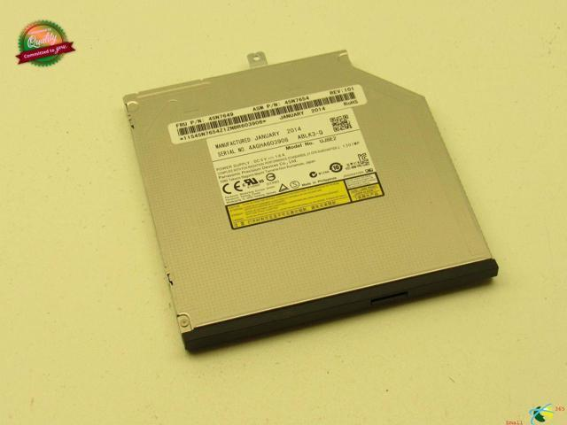 Refurbished: Genuine Lenovo ThinkPad T540P CD-RW DVD-RW Burner Drive UJ8E2  45N7649 - Newegg com