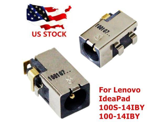 New Lenovo Ideapad 100S-14IBR 100-14IBY 100S-14IBY DC power jack charging  port - Newegg com