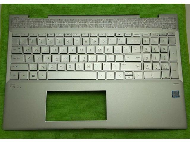 Refurbished: NEW HP L20746-001 15-cn Top Cover / Case with Keyboard  609939-001 ENVY x360 - Newegg com
