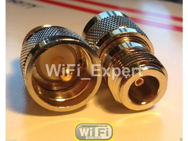 UHF PL259 Male Plug to N Type Female RF Connector Adapter USA