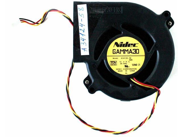 3-Wire for ebmpapst 3212J 2N 12VDC 630MA 7.6W 92 38 high-end Equipment Fan