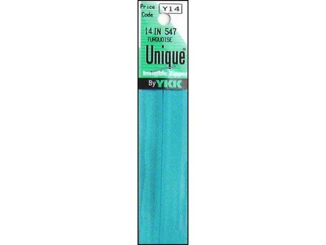 YKK YKK3-14.542 3-14 542 UNIQUE INVISIBLE ZIPPER 14 POWDER BLUE 3-14.542