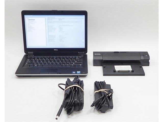 Refurbished: Dell Latitude E6440 Laptop Computer i7 4th Gen  320GB 8GB 14
