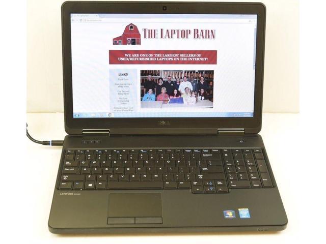 Refurbished: Lot of 5 - Dell Latitude E5540 Laptop - 1 9GHz i5-4300U 4GB  320GB - Newegg com