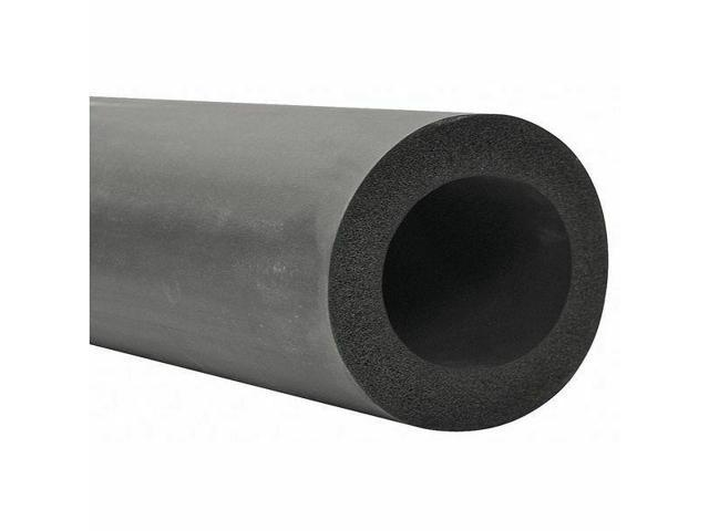 Black TUNDRA Pipe Ins.,Poly,4-1//8 in ID,6 ft. 6XP048418
