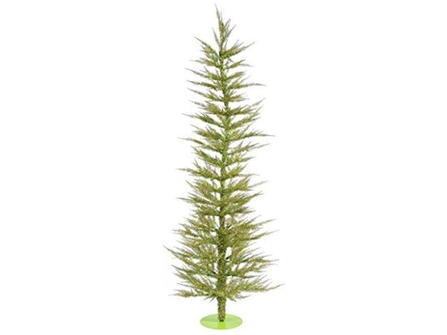 """3' X 17"""" Light Green Laser Tree With 50"""