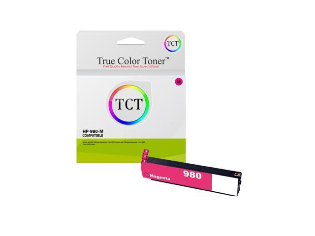 TCT Compatible Ink Cartridge Replacement for HP 980 D8J10A Black Works with HP OfficeJet Enterprise X555dn X555xh X585dn X585f X585z Printers 10,000 Pages