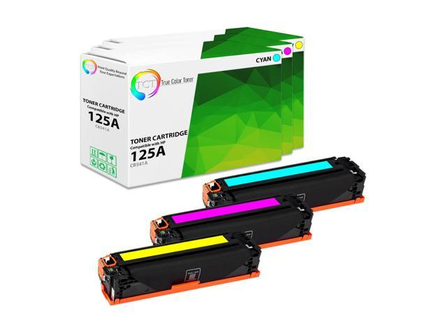 2 Pack CB540A Black Toner For HP 125A LaserJet CM1312nfi CP1215 CP1515n CP1518ni