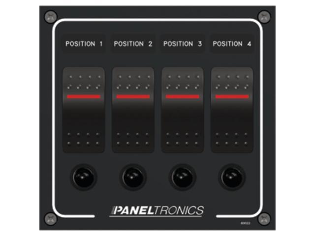 Paneltronics Waterproof Panel - DC 4-Position Illuminated Rocker Switch &  Circui - Newegg com