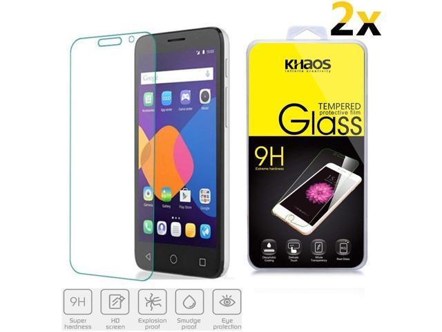 2x KS Alcatel OneTouch Pop 3 5 0 /Pixi 3 5 0 Tempered Glass Screen  Protector - Newegg com