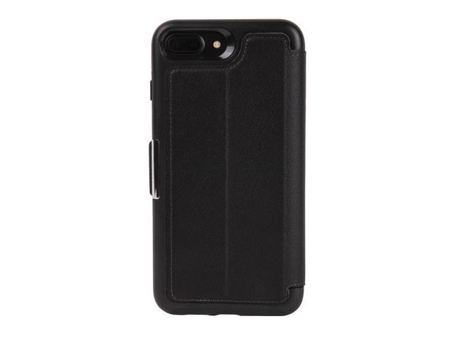 timeless design 97108 7cff6 OtterBox STRADA SERIES Case for iPhone 8 Plus & iPhone 7 Plus (ONLY) -  Retail Packaging - SHADOW (BLACK/PEWTER) - Newegg.com