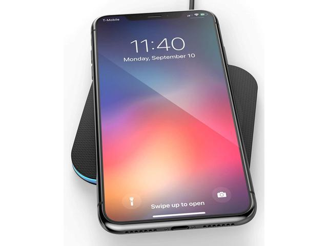 outlet store 14e1f a625b Encased iPhone Xs Wireless Charger for iPhone X, Qi Enabled Charging Pad  (Case Compatible) Safe Charge - Newegg.com