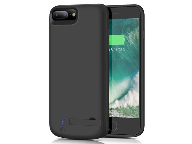 separation shoes 4a0ed 618d8 Battery Case for iPhone 8 Plus / 7 Plus, Upgraded Smtqa [8000mAh] Portable  Protective Charging Case for iPhone 8Plus & 7Plus Extended Backup Charger  ...