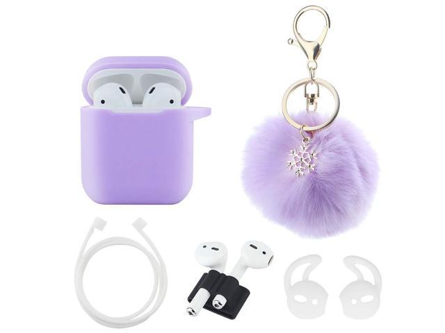 Ball Cool Apple AirPods Case Keychain