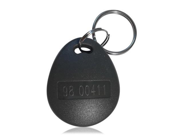 Works with The vast Majority of Access Control Systems 100 pcs 26 Bit Proximity Key Fobs Weigand Prox Keyfobs Compatable with ISOProx 1386 1326 H10301 Format Readers