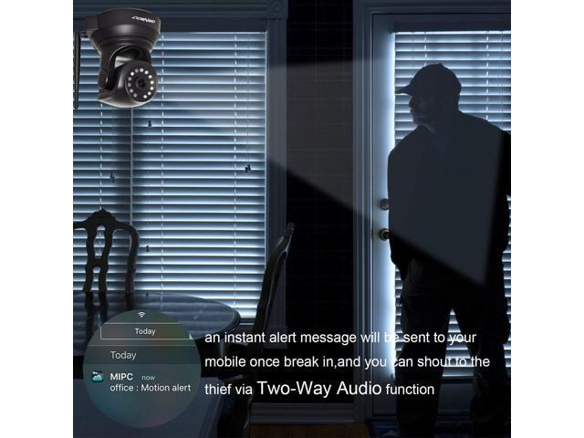Wireless WiFi CCTV Baby Camera - GENBOLT 720P IP Security Home Surveillance  Indoor Dog Camera, Two Way Audio Motion Detection Remote Security Webcam,