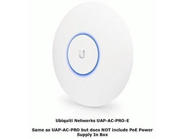 Ubiquiti Networks UAP-AC-PRO-E-US UniFi Access Point Enterprise Wi-Fi  System (PoE Adapter Sold Separately) - Newegg com