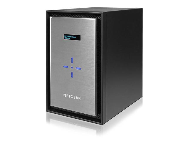 80TB Capacity Network Attached Storage NETGEAR ReadyNAS RN628X00 8 Bay Diskless Ultimate Performance NAS 8GB RAM Intel Xeon 2.2GHz Quad Core Processor