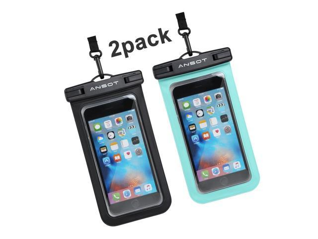 new product ca854 bc68c Universal Waterproof Case - Ansot IPX8 Waterproof Phone Pouch - Cellphone  Dry... - Newegg.com