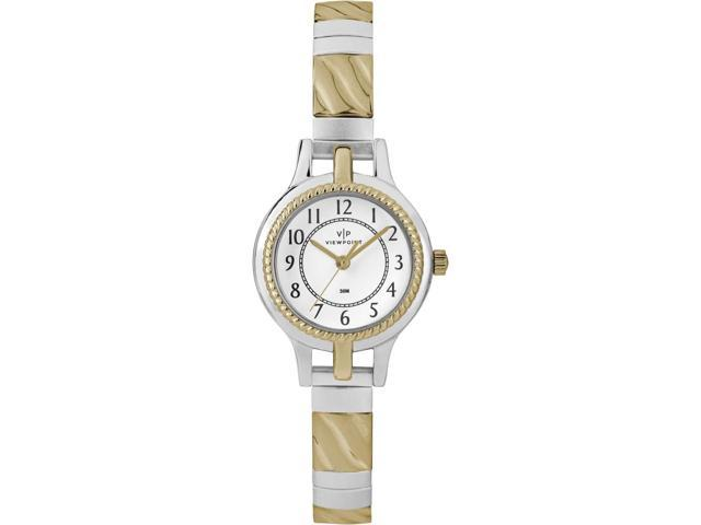 Viewpoint by Timex Women's Two-Tone Stainless Steel Expansion Band Watch - CC3D82400