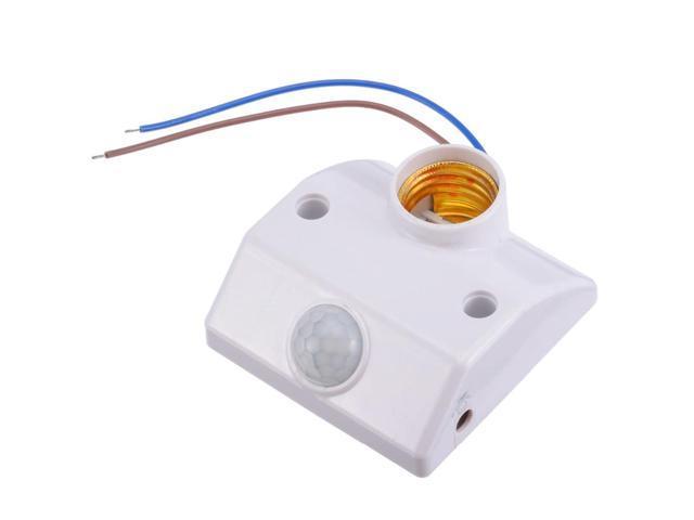 E27 Sensor Holder Lamp Switch Socket Led Infrared Light Motion Pir Base 8OkPnwX0