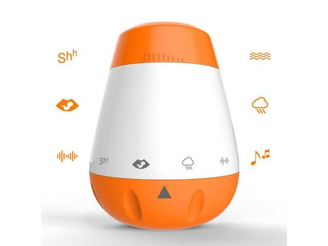 Portable White Noise Infants Smart Rechargeable Sleep Soother Baby Voice  Sensor Music Therapy Sound Machine - Newegg com