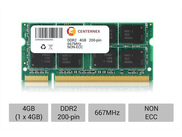 4GB 2x 2GB Kit Apple iMac 2.4GHz  Core 2  PC2-5300 667MHz DDR2 Laptop RAM Memory