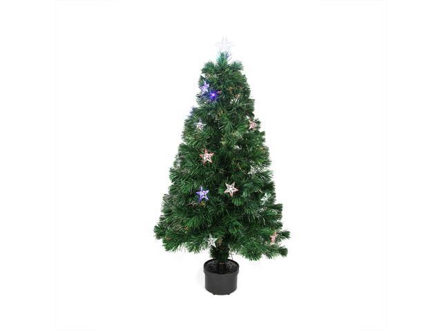 """4"""" Pre-Lit LED Color Changing Star Artificial Christmas"""