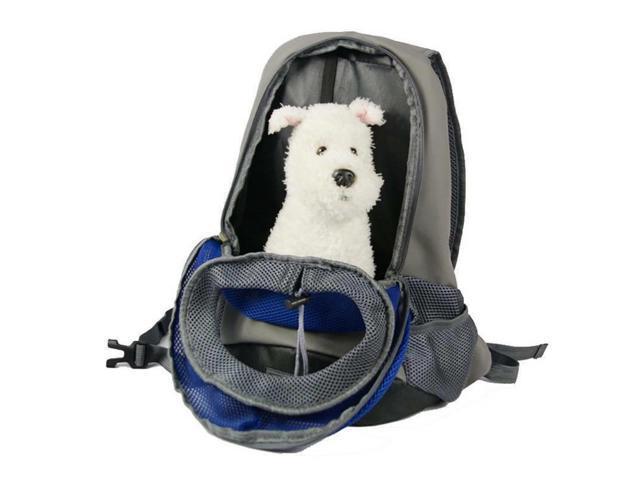 3d1dc150bc9f JS Pet Carrier Breathable Carry Cat Dog Puppy Shoulder Backpack Travel  Portable Bag, Large, Blue - Newegg.com