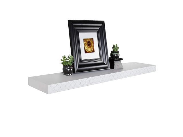 Js 48 Quot Elizabeth Floating Shelf Quatrefoil Modern Wall