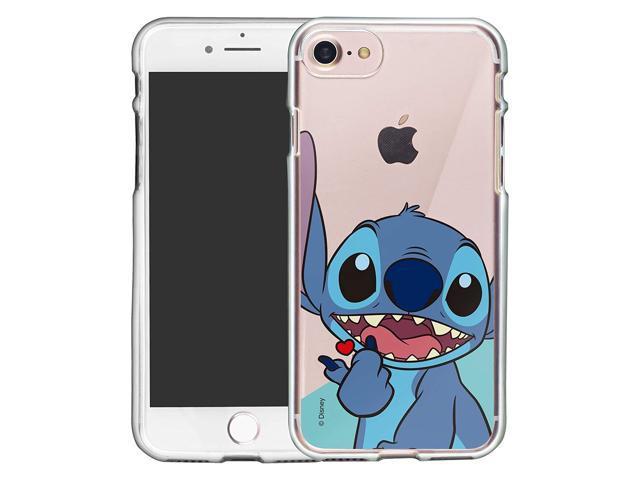 iPhone 8 Plus/iPhone 7 Plus Case Cute Soft Jelly Cover for [ iPhone 8 Plus/iPhone 7 Plus ] Case - Heart Stitch