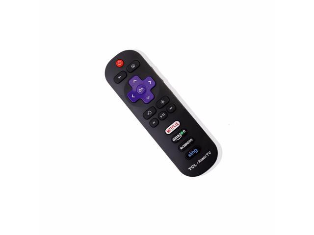 New RC280 Remote Control for TCL ROKU TV 55FS3750 55FS3850