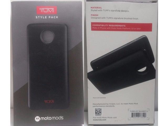 Original TUMI Style Pack Moto Mods Black Case Motorola Z Droid Z Force  Droid - Newegg com
