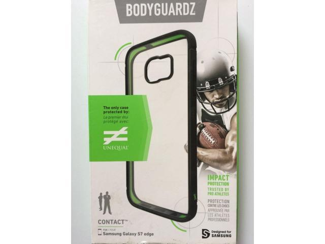 new concept c457d 20c94 Bodyguardz Contact Case Unequal Technology Samsung Galaxy S7 edge Blk  /Clear NEW - Newegg.com