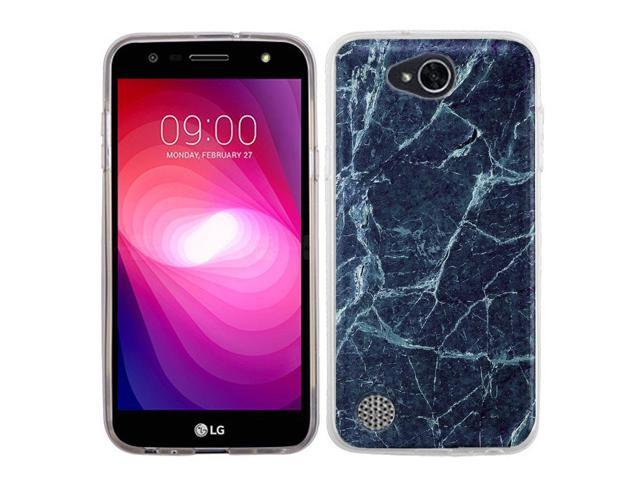 half off 88058 5945a Slim-Fit TPU Phone Case for LG X Charge - Marble / Blue - Newegg.com