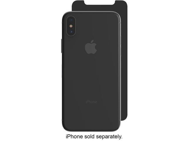 new styles c34c1 f11ab ZAGG - InvisibleShield Privacy Glass Screen Protector for Apple iPhone X  an... - Newegg.com